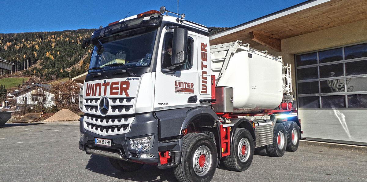 Schottererzeugung - Erdbewegung - Transporte - Winter Manfred Radstadt